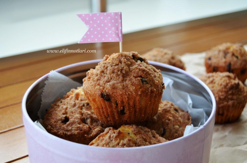 Damla Çikolatalı, Tarçınlı Muffin