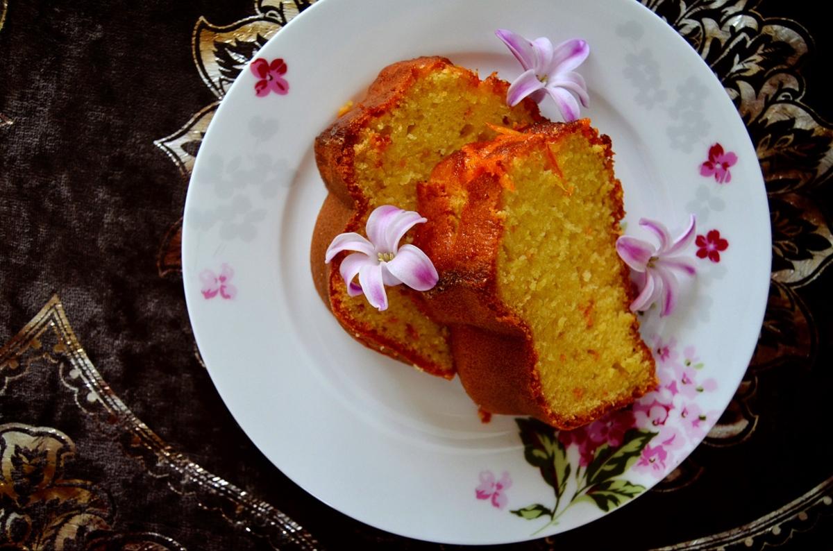 >Portakallı Kek