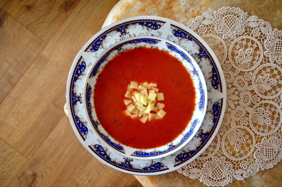 >Domates Çorbası