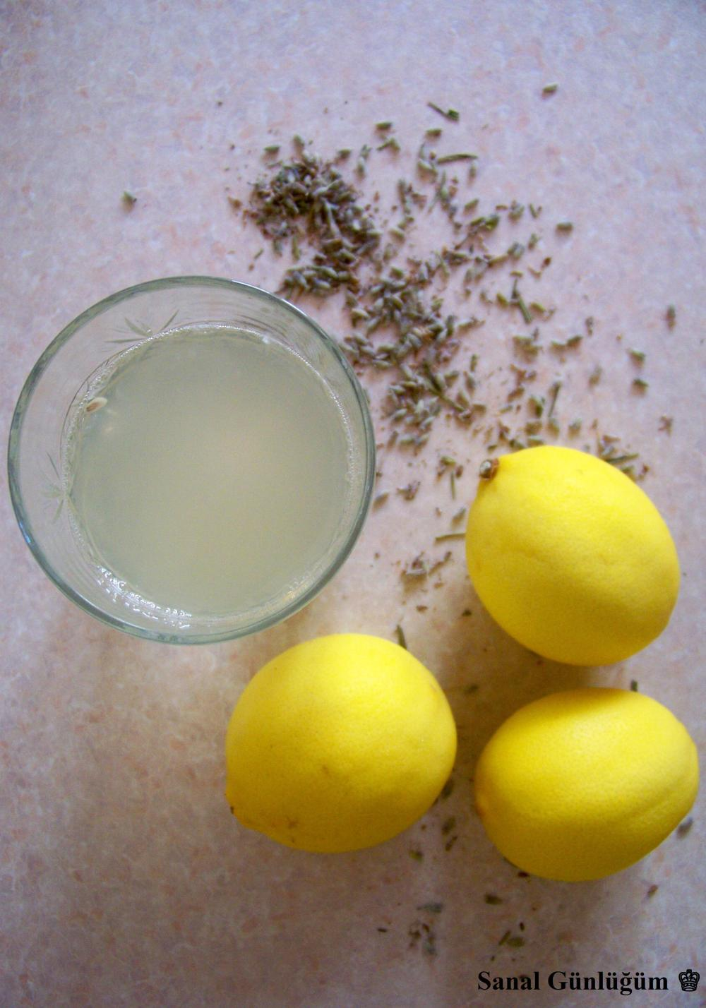 Lavantalı Limonata