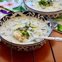 >Soğuk Buğday Çorbası (Ayran Aşı Çorbası)