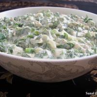 >Yoğurtlu Tavuk Salatası