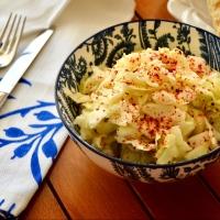 >Beyaz Lahana Salatası