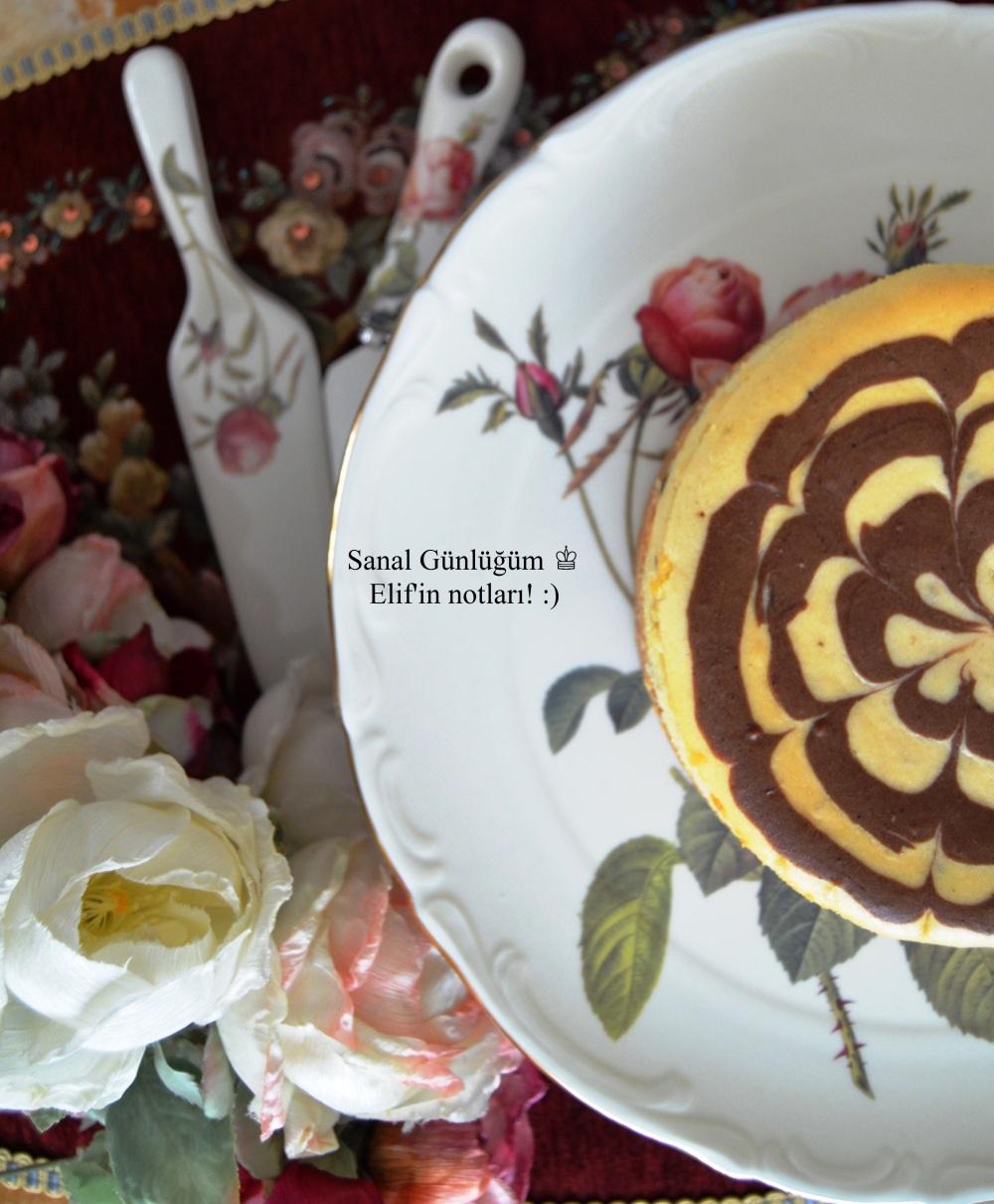 Muzlu, Bitter Parça Çikolatalı Cheesecake