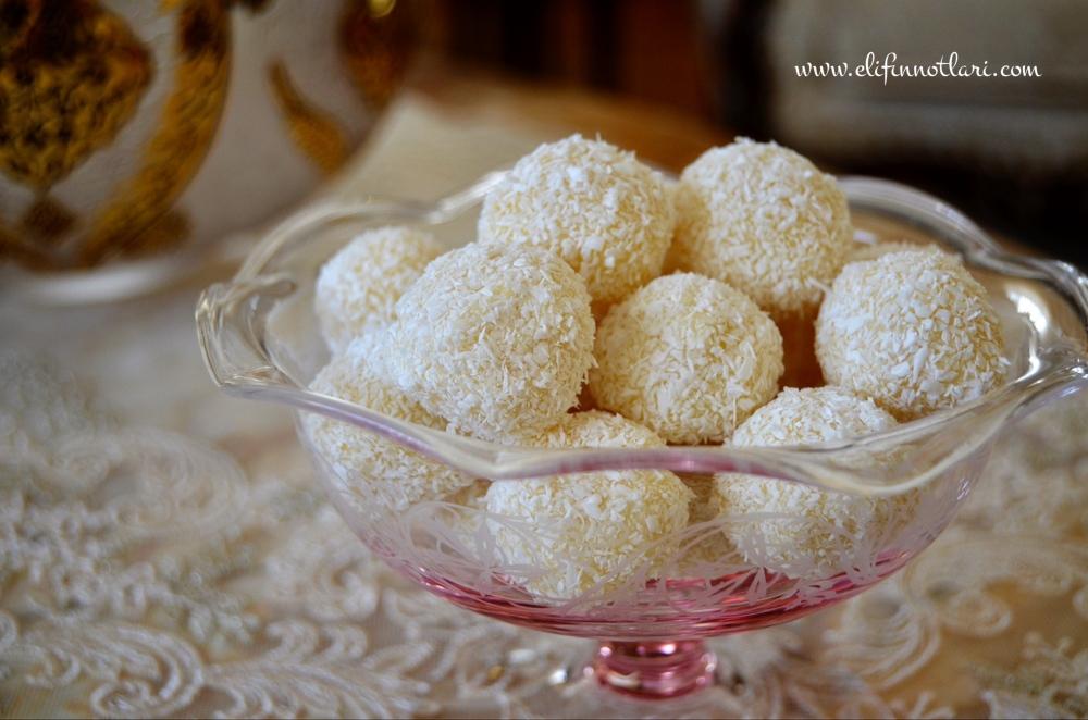Limonlu - Fındıklı Truff Çikolata (White Chocolate Truffles)