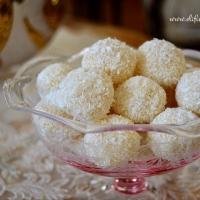 >Limonlu - Fındıklı Truff Çikolata (White Chocolate Truffles)