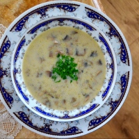 >Mantar Çorbası